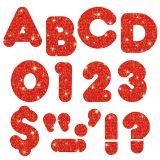 READY LETTERS 4 CASUAL RED SPARKLE