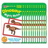 (12 PK) DINOSAUR MIGHTY MATCH CHALLENGE CARDS