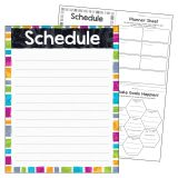 SCHEDULE COLOR HARM LEARNING CHART