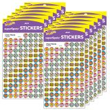 (12 PK) SUPERSPOTS STICKERS CHEER WORDS