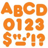 READY LETTERS 4 INCH CASUAL ORANGE