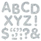 (6 PK) STICK-EZE 2IN SILVER SPARKLELETTERS NUMBERS PUNCTN 107 PER PK
