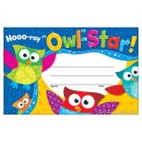 HOOO RAY OWL STAR RECOGNITION AWARDS