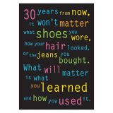 POSTER 30 YEARS FROM NOW 13 X 19 LARGE