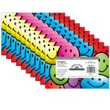 (10 PK) SMILEY FACES POSTCARDS 30 PER PK