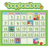 POLKA DOT SCHOOL CALENDAR BB SET