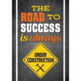 THE ROAD TO SUCCESS IS ALWYS POSTER