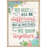 WE MAY ALL BE DIFFERENT BUT POSTER