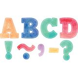 BOLD BLOCK 3IN MAGNETIC LETTERS WATERCOLOR