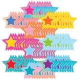(3 PK) COLORFUL VIBES STARS ACCENTS