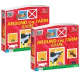 (2 EA) ERIC CARLE AROUND THE FARM GAME