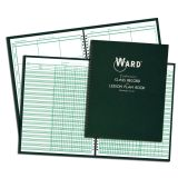 RECORD & LESSON PLAN COMBO BOOK 6 PERIOD 6 WEEK CLASS