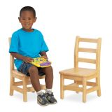 12 WOOD LADDERBACK CHAIRS / FULLY ASSEMBLED