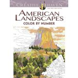 American Landscapes Color by Number