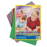 Construction Paper 400 Assorted Sheets