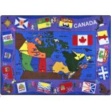 Flags Of Canada 5'4X7'8 Rectangle