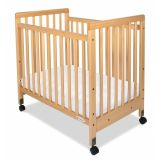 SafetyCraft® Cribs - Compact Fixed-Side- Slatted Panels