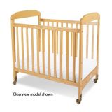Serenity™ Cribs - Compact Fixed-Side- Clear Panels