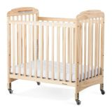 Serenity® Compact Crib - Compact Fixed-Side - Clearview Panels