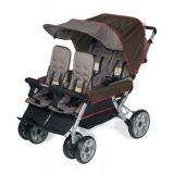 LX4™ Four Child Stroller - Earthscape