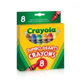 Jumbo Crayons Pack of 8