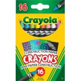 Construction Paper Crayons (16/pk)