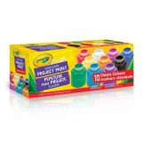 Washable Project Paint Pack of 10 classic Colours