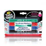 Take Note : Chisel Tip 4 Dry-Erase Markers