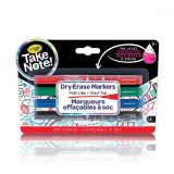 Take Note : Fine Line 4 Dry-Erase Markers