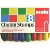 Chubby Crayons - Box of 8