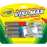 4 Dry Erase Markers, Broad Line