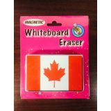 Magnetic Whiteboard Erasers Canada Flag