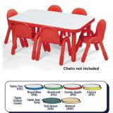 Baseline® Round Table Large - 18 height (48 diameter), Canary