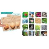 Nature Tactile Maxi-Memory Game : 34 Cards