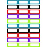 Assorted Color Die Cut Magnetic Nameplates