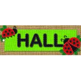 Burlap Hall Pass Laminated