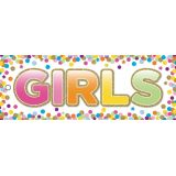 Confetti Girls Laminated Pass
