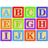 Die-Cut Magnetic ABC Blocks Letters 2