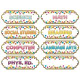 Large Die-Cut Magnetic Confetti Subjects Timesavers