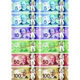 Canadian Dollar Foam Manipulatives