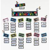 Chalk Birthday Magnetic Bulletin Board