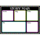 Magnetic Chalk Look Story Map Advanced