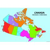 Write On Wipe Off Canada Map
