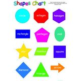Write On Wipe Off Shapes Polychart