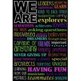 We Are Chalk Poly 13X19 Chart