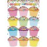 Confetti Birthdays Smart Poly™ Chart
