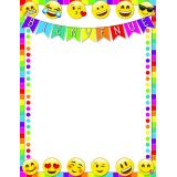 Bienvenue Emoji Smart Poly 17X22 Chart