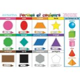 French Shapes & Colors Smart Poly™ Chart 13 x 19
