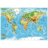 Learning Mat Physical World Map