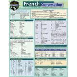 French Conversation Reference Page laminated